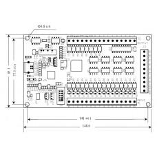 Carte contrôleur de mouvement 4 axes  pour Mach3 AKZ-250